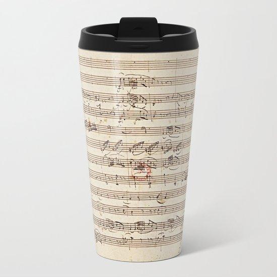 Mozart Metal Travel Mug