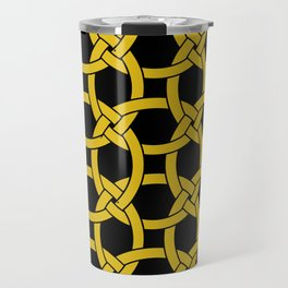 Circles in Knots Travel Mug