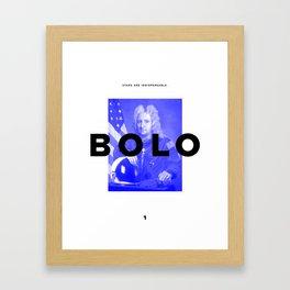 BOLO 1 cover Framed Art Print