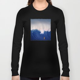 Blue Wave. Long Sleeve T-shirt