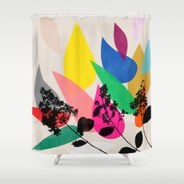 grow 2 Shower Curtain