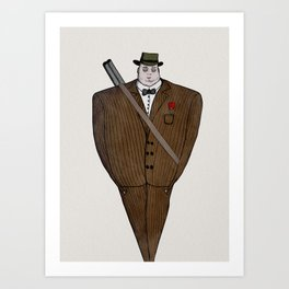 Mafia Art Print