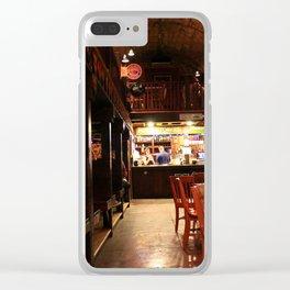 Irish Pub Clear iPhone Case