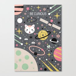 Be Curious Canvas Print