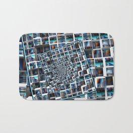 Abstract Infinity Bath Mat