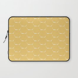 Calm honeycomb Laptop Sleeve