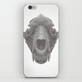 Grizzly Skull iPhone Skin