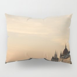 Sun sets over Budapest Pillow Sham