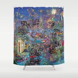 Azure Shower Curtain