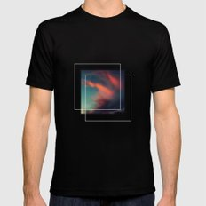 Excuse Me While I Kiss the Sky Black MEDIUM Mens Fitted Tee