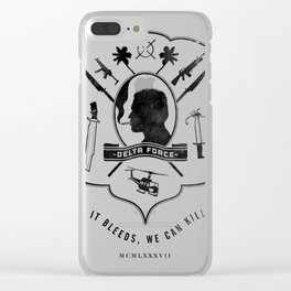 If it bleeds, we can Clear iPhone Case