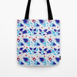 Turkish tulip pattern 7 Tote Bag