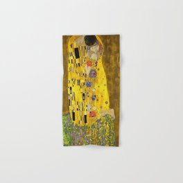 The Lovers Kiss After Klimt Hand & Bath Towel