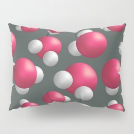 Water molecules Pillow Sham