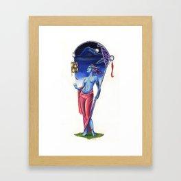 Lantern Bringer Framed Art Print