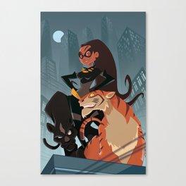 Eartha Kitt aka Catwoman Canvas Print