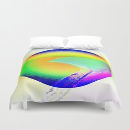 Iceberg A68 - Ultraviolet Duvet Cover