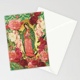 Virgen de Guadalupe II Stationery Cards