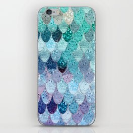 SUMMER MERMAID II iPhone Skin