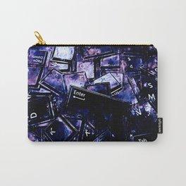keyboard keys letters wsc80 Carry-All Pouch