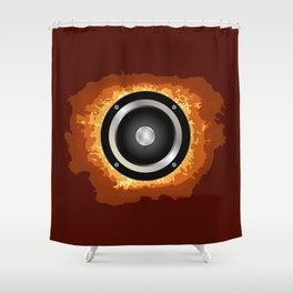 Speaker Shower Curtain