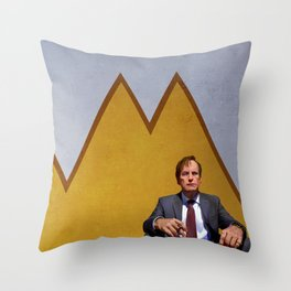 Jimmy (Slipping) Throw Pillow