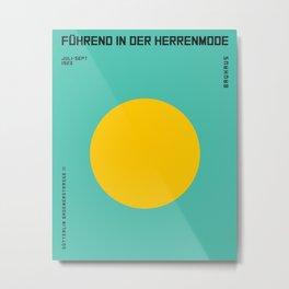 Poster Vintage Bauhaus Ausstellung 1923 | Retro Advertising Poster, MODERN art, modern poster, Geome Metal Print