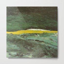 August Strindberg Wave VII Metal Print