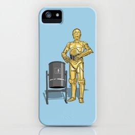 C3PO & Trash iPhone Case