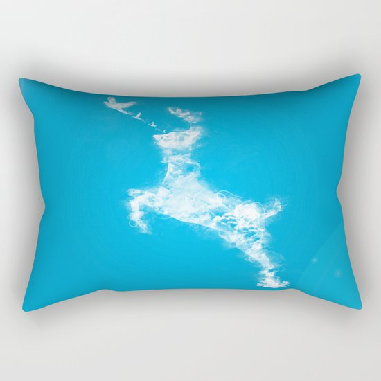 In Search Of Peace Rectangular Pillow