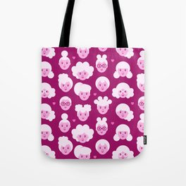 Little Girls Pattern (0001)  Tote Bag