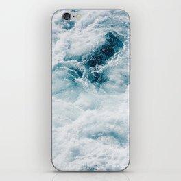sea - midnight blue storm iPhone Skin