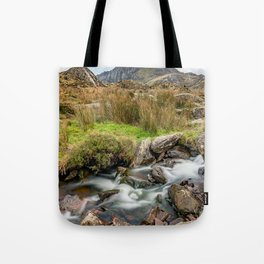 Tryfan Snowdonia National Park Tote Bag