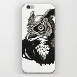 Eastern Screech Owl iPhone Skin