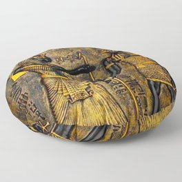 Egyptian Gods Floor Pillow