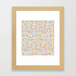 Animals & Lucky charms Framed Art Print