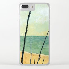 Branches on the Beach Clear iPhone Case