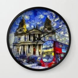 Vincent Van Gogh London Wall Clock