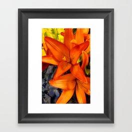 Brunch Bouquet Framed Art Print