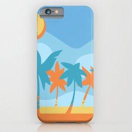 beach fun times iPhone Case