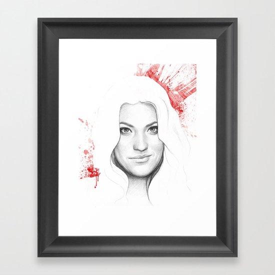 Debra Morgan Framed Art Print