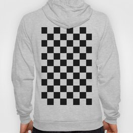 Checkered (Black & White Pattern) Hoody