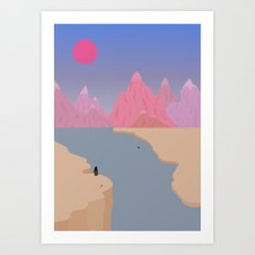 Girls' Oasis 2 Art Print