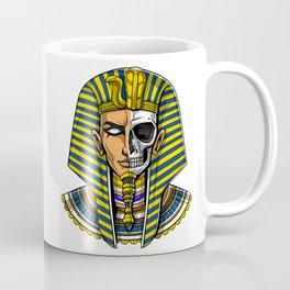 Egyptian Pharaoh Skull Coffee Mug