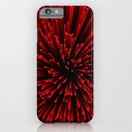 Red Incense Sticks  iPhone Case