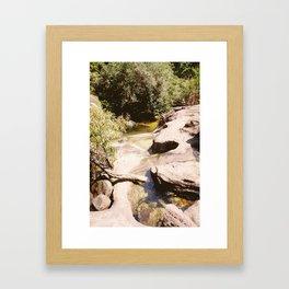 Ubon Ratchathani Thailand - Waterfalls II Framed Art Print