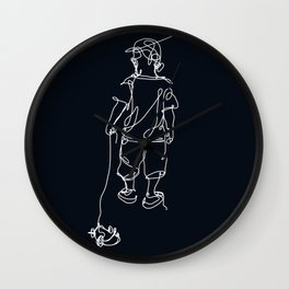 PullBoy Wall Clock