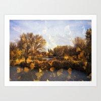 Autumn Tale Art Print
