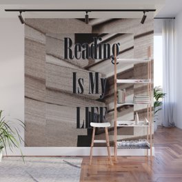 Reading Is My Life Wall Mural