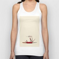 tool Tank Tops featuring The JEB TOOL by alex preiss